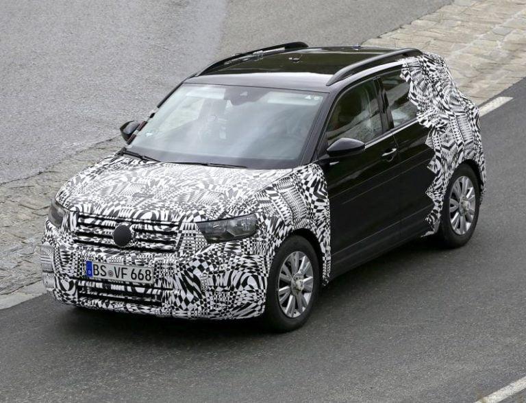 Volkswagen T-Cross casus kameralara yakalandı!
