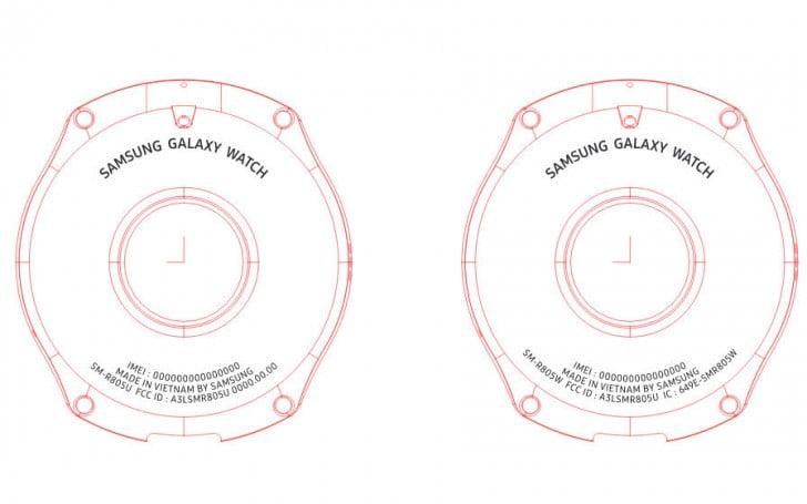 Galaxy Watch iki ayrı boya sahip olacak