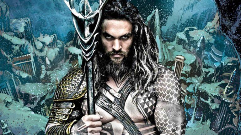 Aquaman için nefes kesen tanıtım videosu
