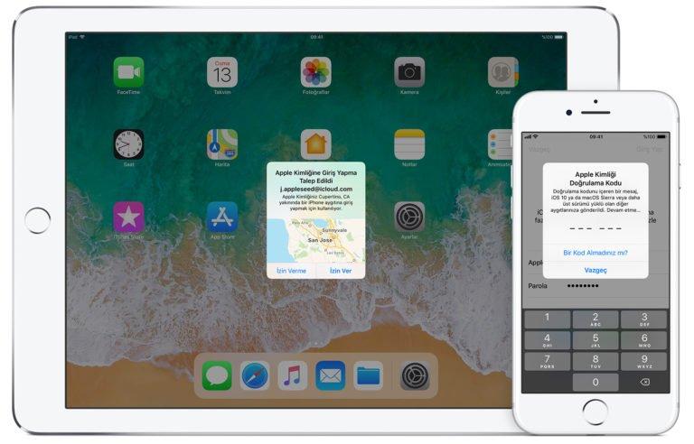 iOS 12 iki aşamalı doğrulama işini kolaylaştırıyor