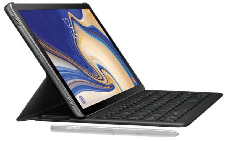 Galaxy Tab S4, iris tarayıcısına sahip olacak