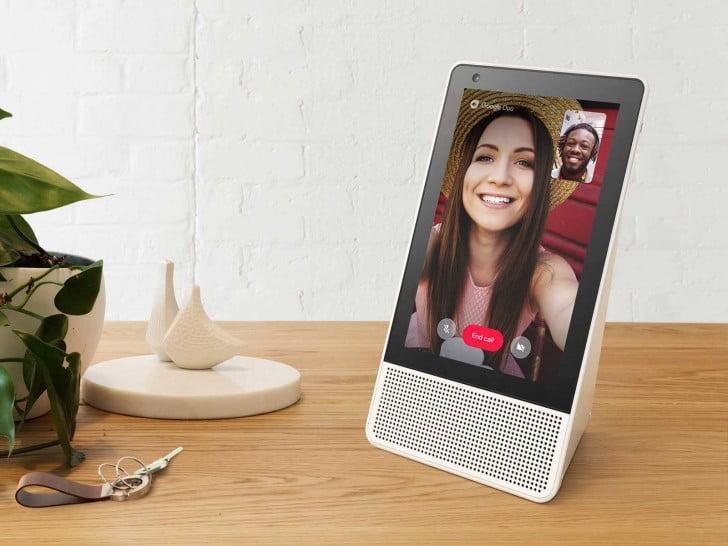 Lenovo akıllı hoparlör, Echo Show'a rakip olacak