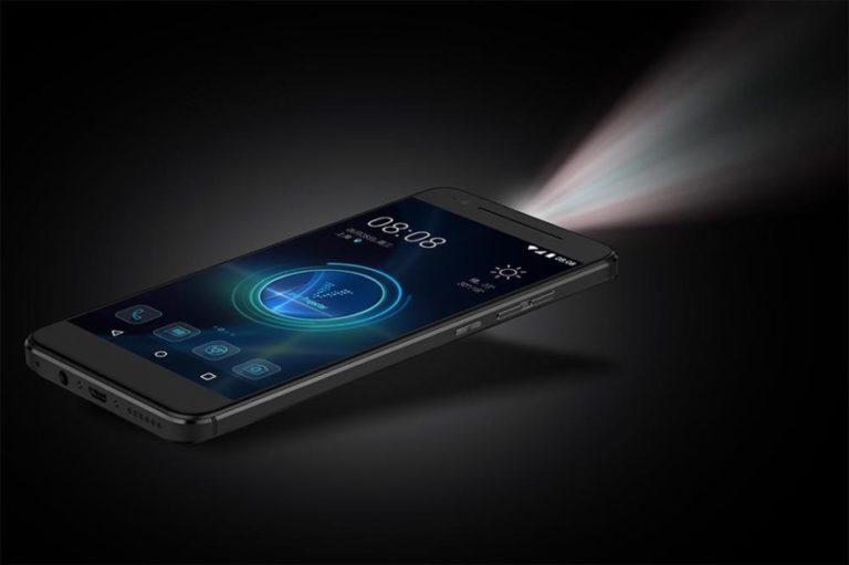 Projektörlü Android Moviphone yolda
