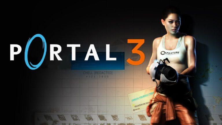 Valve, Portal 3 için ilk adımı attı