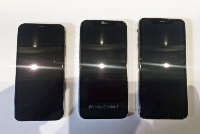 2018 model iPhone'lar yan yana görüntülendi