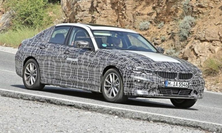 Elektrikli BMW 3 Serisi casus kameralara yakalandı!
