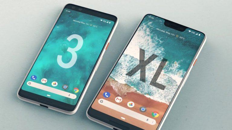 Karşınızda Google Pixel 3'ün tasarımı!