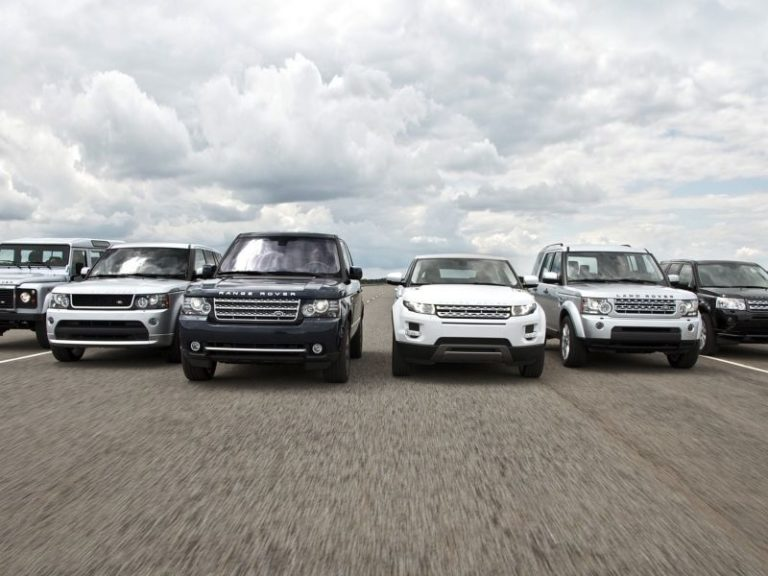 Jaguar Land Rover üç yeni modeli açıkladı!