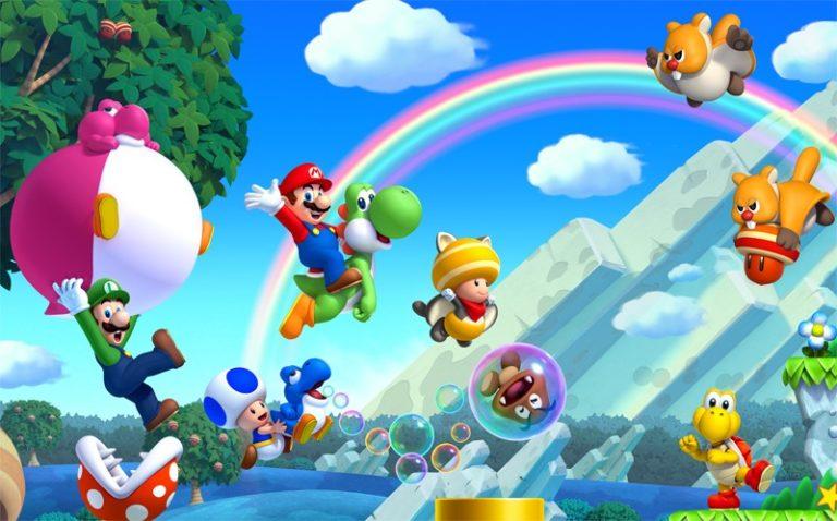 New Super Mario Bros. U Nintendo Switch'e geliyor!