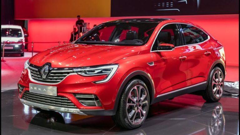 Renault Arkana Moskova'da ortaya çıktı!