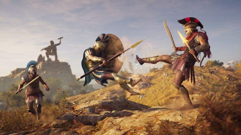 Assassins Creed Odyssey için yeni oynanış videosu