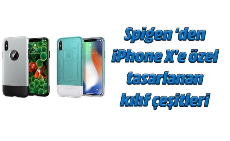 Spigen Classic One ve Classic C1 kılıflarla iPhone X'u yere düşürdük