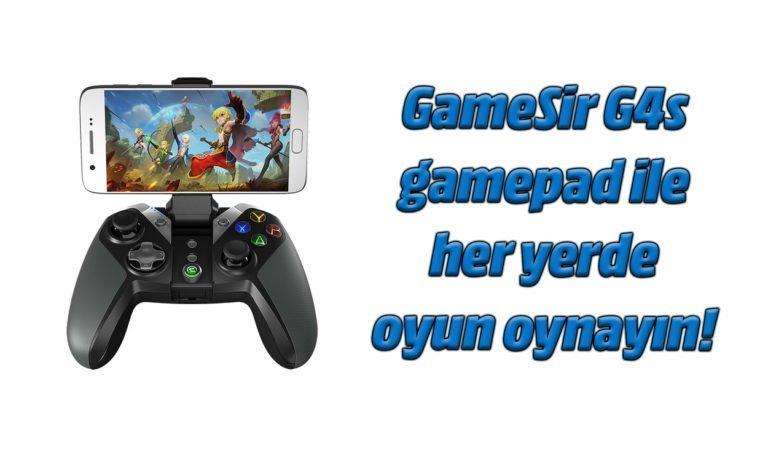 GameSir G4s Gamepad inceleme