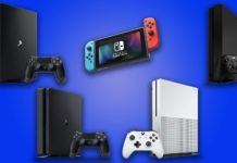 Nintendo Switch PlayStation 4 ve Xbox One