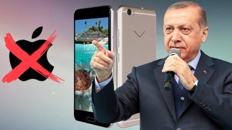 Bim Cumhurbaşkanı'nın iPhone boykot çağrısı üzerine iPhone 6 satışını durdurdu!