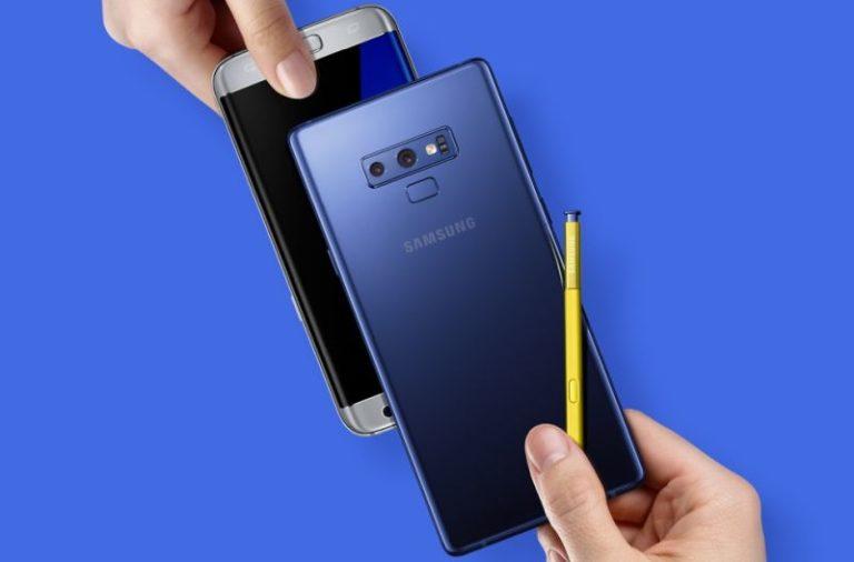 Değişim kampanyası ile Galaxy Note9 'a sahip olun
