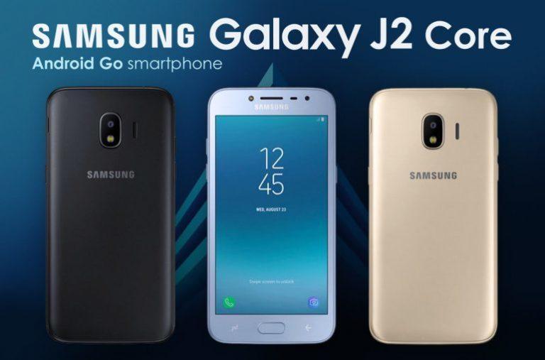 Android Go ile çalışan Samsung Galaxy J2 Core sızdı!