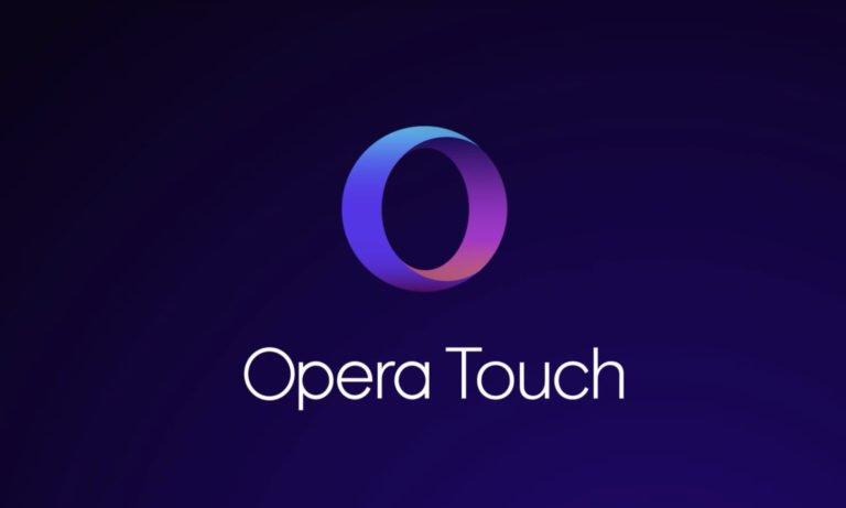 Android için Opera Touch güncellendi