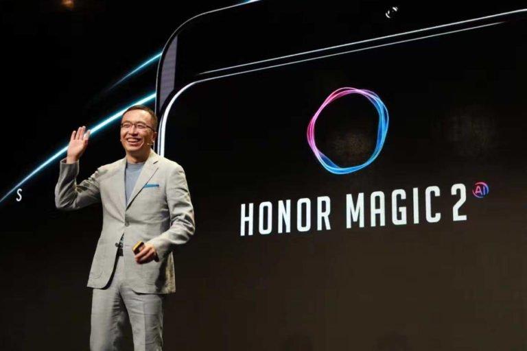 Honor'un yeni telefonu Honor Magic 2 yolda!