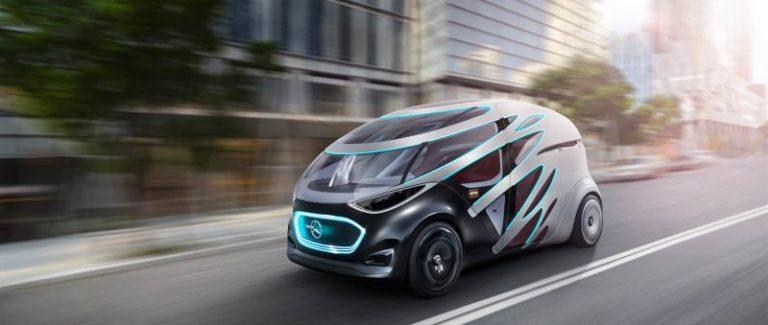 """Daimler'in yeni elektrikli otonom araç konsepti """"Vision Urbanetic"""" ortaya çıktı!"""