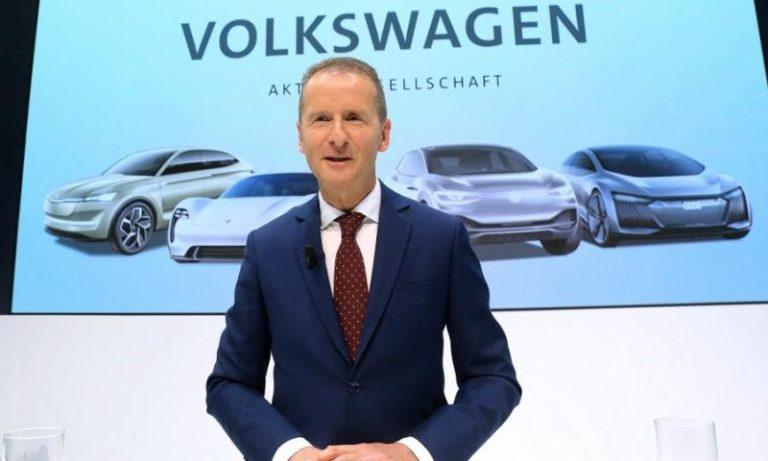 Volkswagen CEO'sundan yöneticilere elektrikli otomobil talimatı!