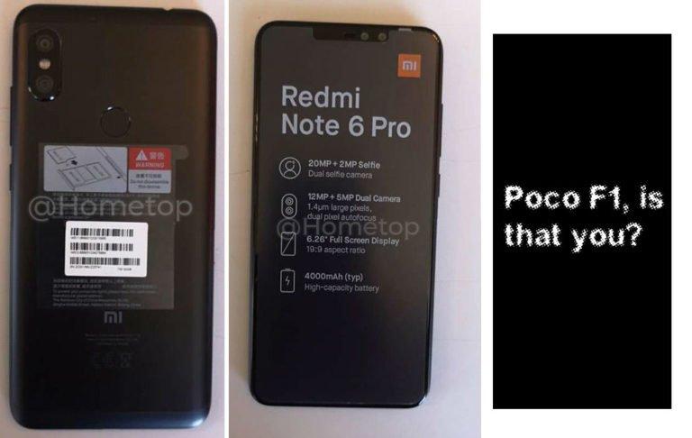 Xiaomi Redmi Note 6 Pro'nun canlı videosu yayınlandı