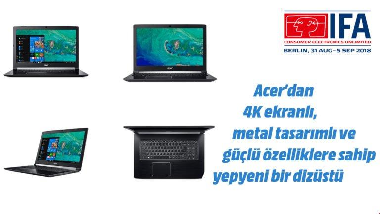 Acer Aspire 7 dizüstü bilgisayar ön inceleme – #IFA2018