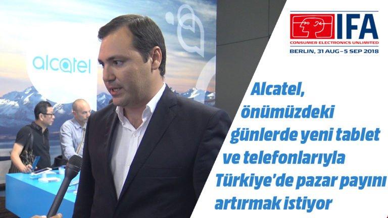 Alcatel 5V ve Alcatel 3T yakında Türkiye'de – #IFA2018