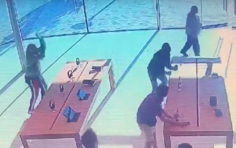 Apple Store soygunlarına 17 tutuklama emri!