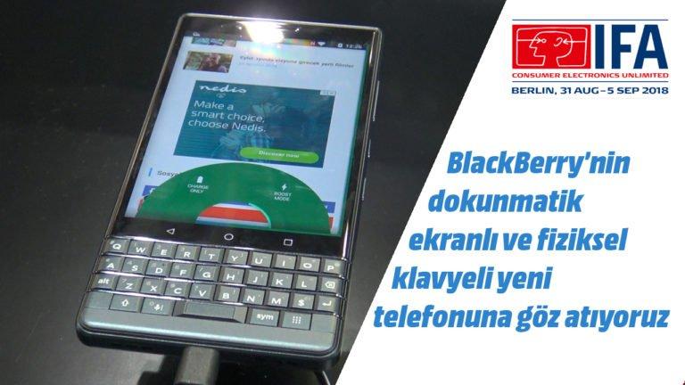 BlackBerry Key2 LE ön inceleme – #IFA2018