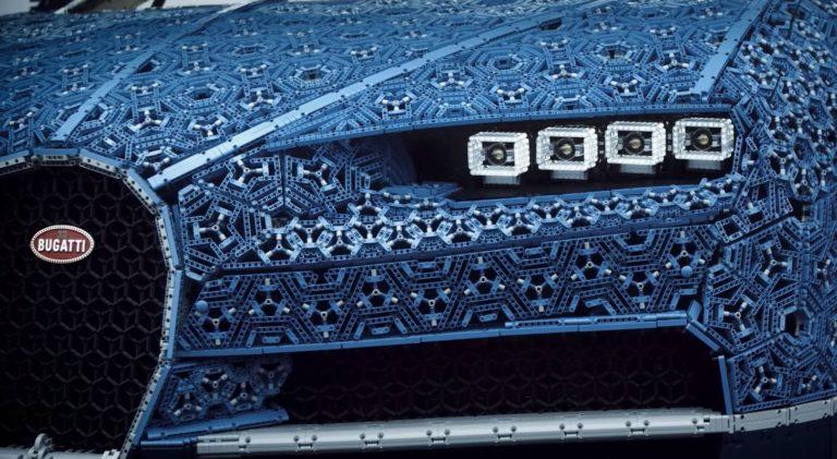 LEGO ile Bugatti Chiron yaptılar!
