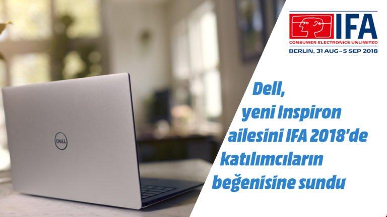Dell Inspiron 7000 dizüstü bilgisayar ön inceleme – #IFA2018