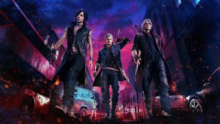 Devil May Cry 5 için Dante'li oynanış videosu