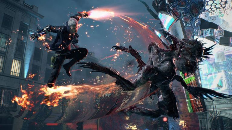 Devil May Cry 5, PS4'te göz kamaştıracak!