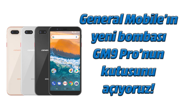 General Mobile GM9 Pro kutu açılış videosu (Unboxing)