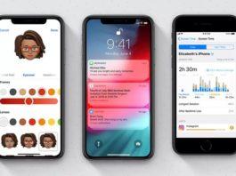 iOS 12 güncellemesi