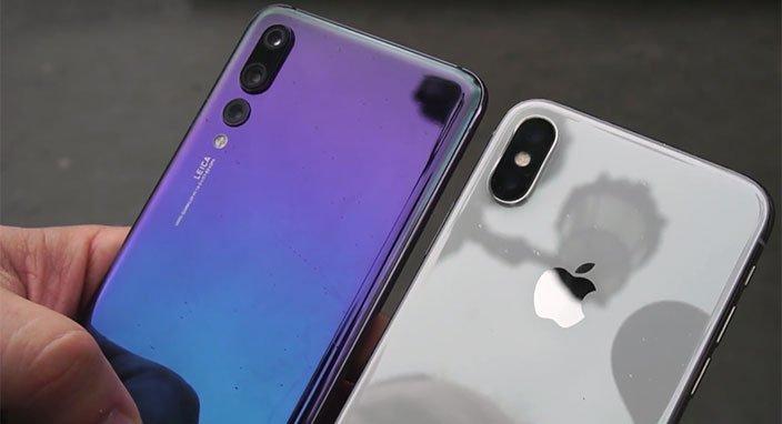 iPhone Xs Max ve Huawei P20 Pro karşılaştırması