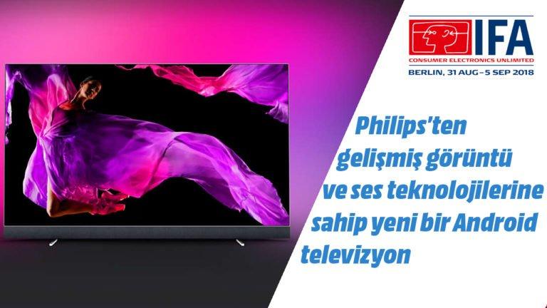 Philips OLED+ 903 TV ön inceleme – #IFA2018