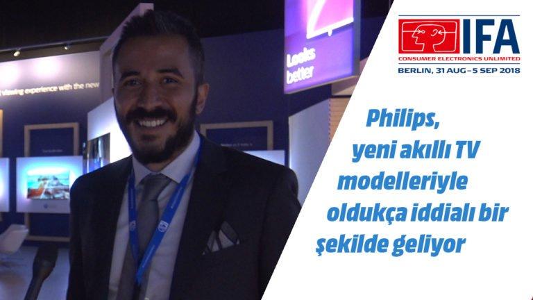 Philips Türkiye'den Can Göver, yeni TV'leri anlatıyor – #IFA2018