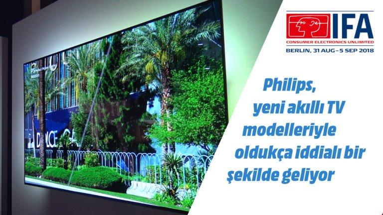 Philips OLED 803 akıllı TV ön inceleme – #IFA2018