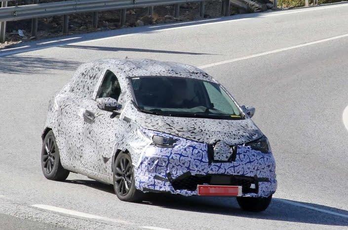 Renault Zoe 2 casus kameralara böyle yakalandı!