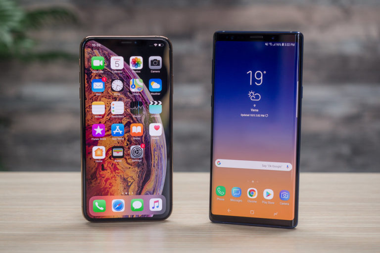 Galaxy Note 10 ekranı, iPhone XS Max'tan büyük olacak
