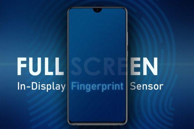 Galaxy S10'un ekranı, parmak izi okuyucusu olacak