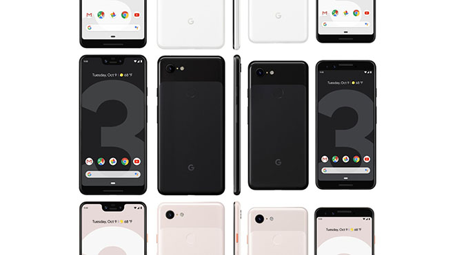 Google Pixel 3 tanıtıldı! İşte tüm özellikleri ve fiyatı!