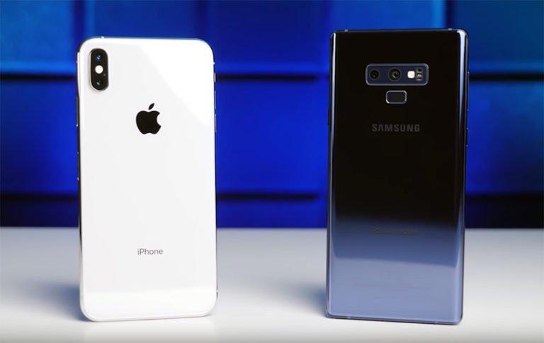 iPhone Xs Max ve Galaxy Note 9 kamera karşılaştırması
