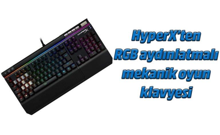 HyperX Alloy Elite RGB inceleme