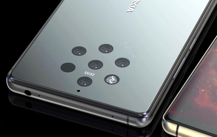 5 kameralı Nokia 9 PureView geliyor