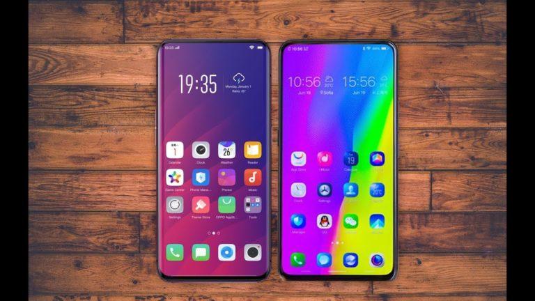 Artık moda tam ekranlı akıllı telefonlar!
