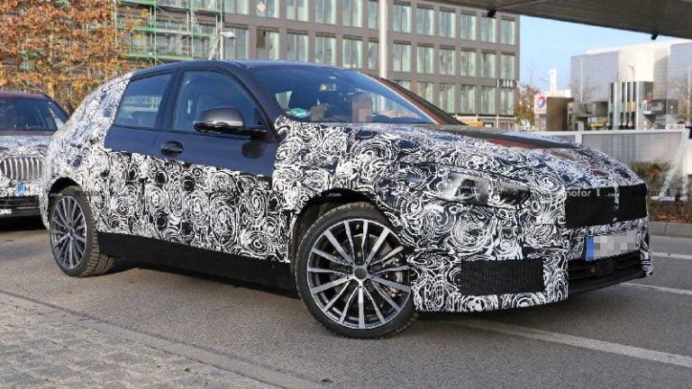 Yeni BMW 1 Serisi casus kameralardan kaçamadı!