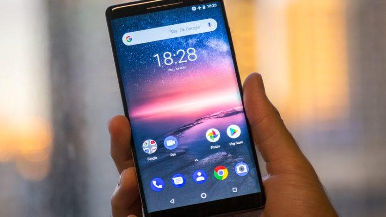 Nokia 8 Android Pie ile çalışırken görüntülendi